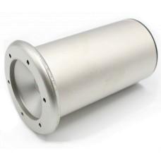 21.464.21 Коннектор D=51мм  h100мм металл. мат. ник. ТЕМПО