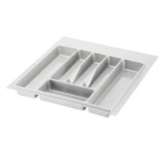 Лоток для столовых приборов 400-450 белый  А