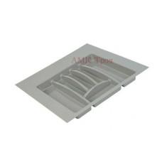 Лоток для приборов 500-550мм (503*498 - 400*370) серый