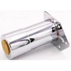 15.144.18 Регул опора д/меб D=42мм h100-120мм металл. хром ТЕМПО