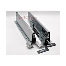 Выдвижной ящик IREX BOX 350 мм Серый металик irex-Box 93*350